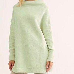 Free People Ottoman Slouchy Tunic Sweater Sz M NWT